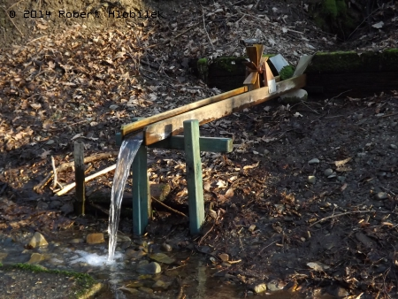 Studánka s vodním mlýnem