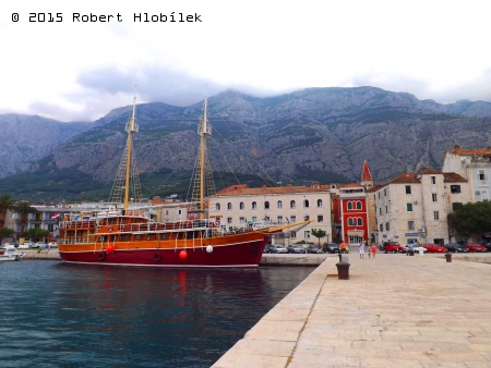 Chorvatsko - přístav Makarska