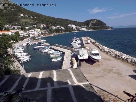 Chorvatsko - přístav v Živogošće