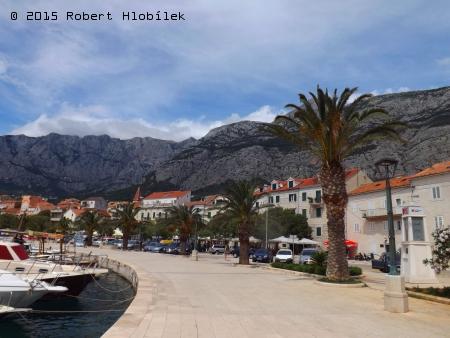Chorvatsko - Makarska přístav