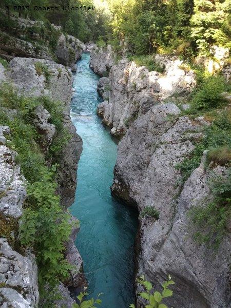 Chorvatsko, řeka Soča