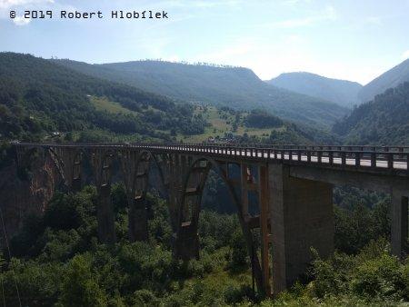 most přes řeku Tara, Černá Hora