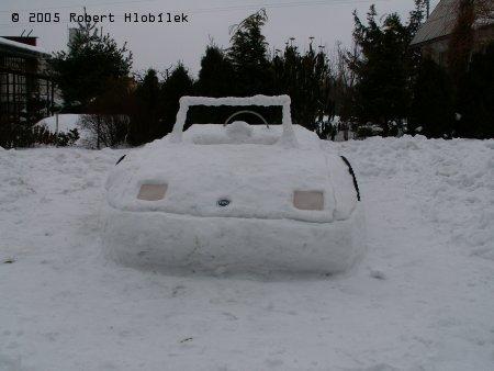 Sněhový kabriolet