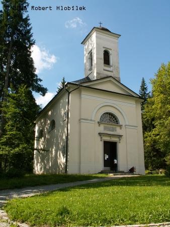 Filiální kostel Panny Marie - Uzdravení nemocných v Karlově Studánce