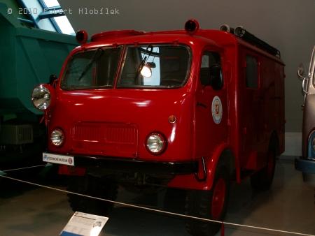 Tatra 805 - muzeální kousek, který je dodnes v provozu u mnoha SDH