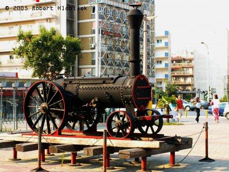 Stará lokomotiva