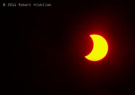 Částečné zatmění slunce 2011