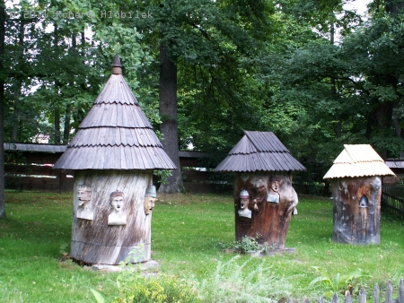 Úly ve skanzenu v Rožnově
