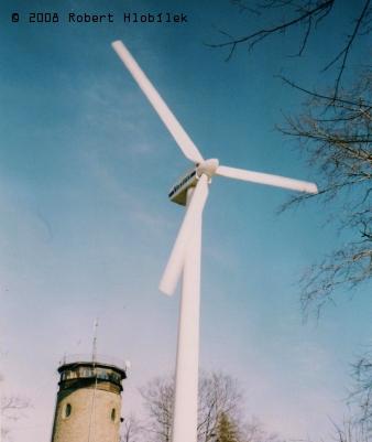 Větrná elektrárna na Hostýně