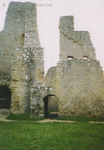 Zřícenina hradu Beckov
