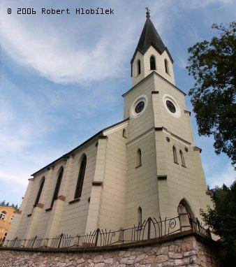 Kostel v Jánských Lázních