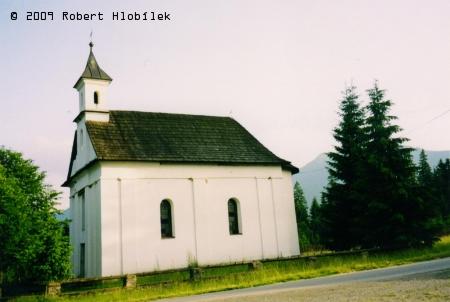 Oravice kostelík