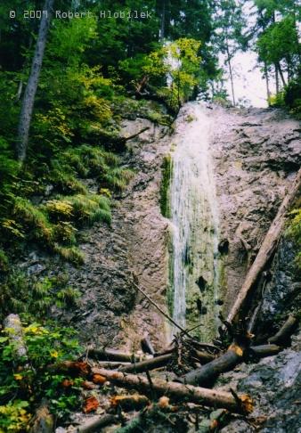 Slovenský raj - vodopád