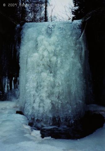 Zamrzlý splav Žopanky
