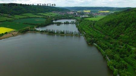 Soustava rybníků u města Odry
