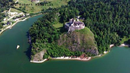 Zřícenina středověkého hradu Czorsztyn