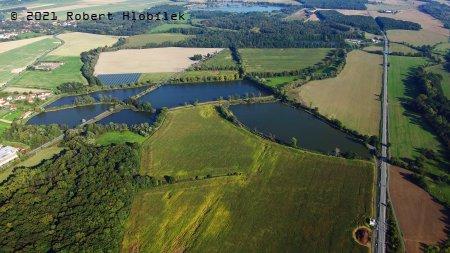 Chovné rybníky u Hustopečí nad Bečvou