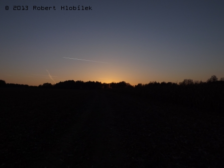Západ slunce