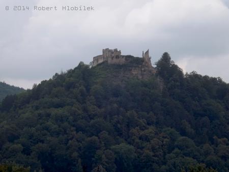 Zřícenina Považského hradu