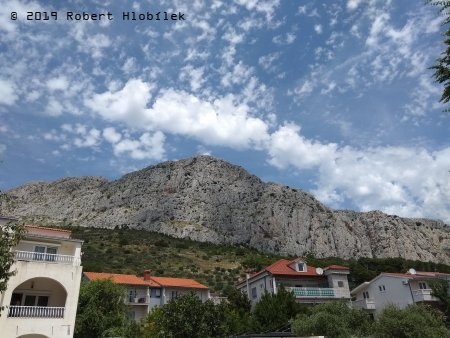 Chorvatsko, hory kolem pobřeží