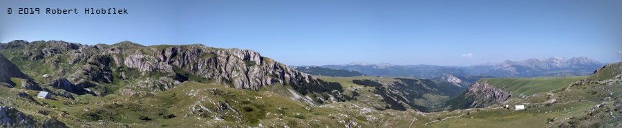 Panorama n.p. Durmitor, Černá Hora