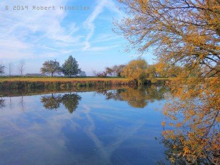 Podzim na řece Moravě