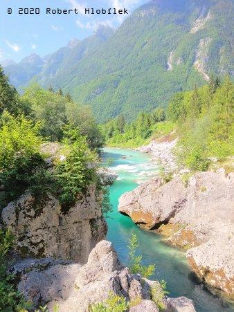 Řeka Soča