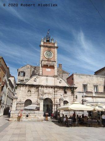 Městská strážnice a kavárna Lovre na Národním náměstí