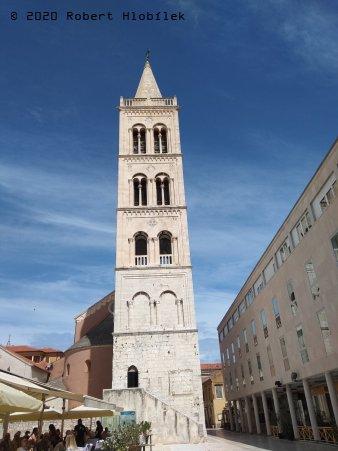 Zvonice katedrály sv. Anastázie (Sveta Stošija)
