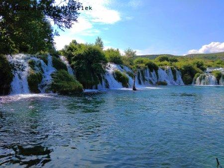 Vodopády na řece Zrmanja