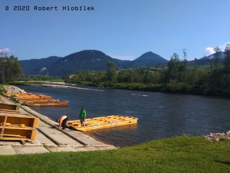 Splavování řeky Dunajec