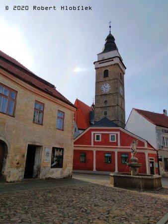 Slavonice - městská věž