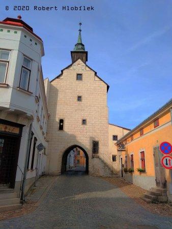 Slavonice - Dačická brána