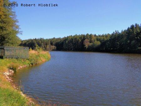 Novomlýnský rybník u nejsevernějšího bodu Rakouska