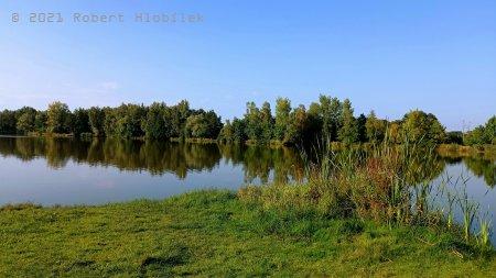 Štěrkopískové jezera u Hustopečí nad Bečvou