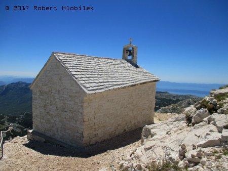 Kostel na vrcholu Sveti Jure 1762 m n. m.