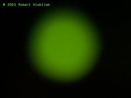 Zelený puntík