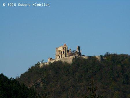 Zřícenina boskovického hradu