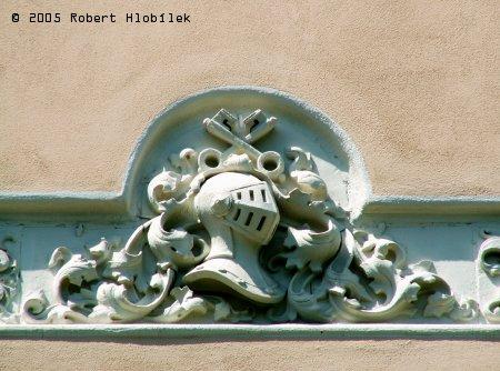 Štuka na zámku ve Studénce