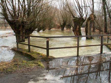 Na mostě u Slaňáků