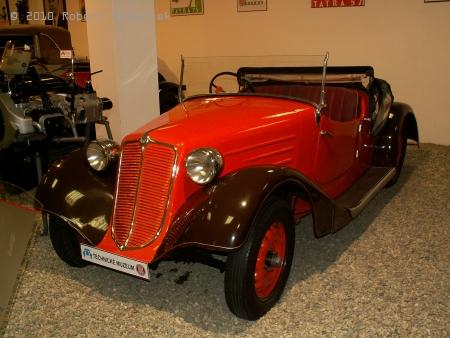 Sportovní kabriolet T 57a - hadimrška (1935 - 1938)