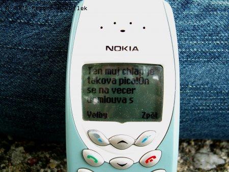 SMS od Simony