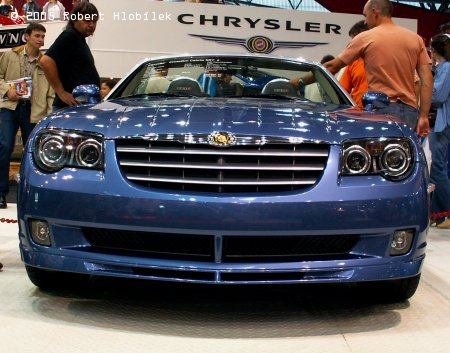 Impozantní Chrysler Crossfire