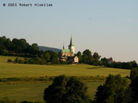Kostel v Bílavsku