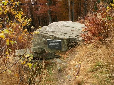 Základní kámen rozhledny Skalka