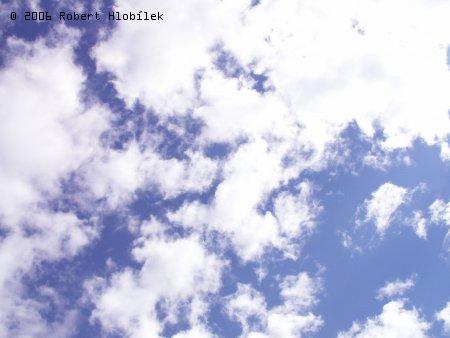 Modré nebe