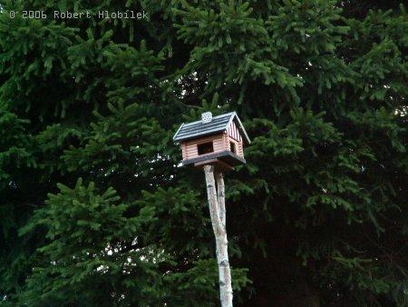 Stylová ptačí budka :)
