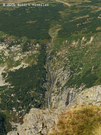 Vodopády na polské straně
