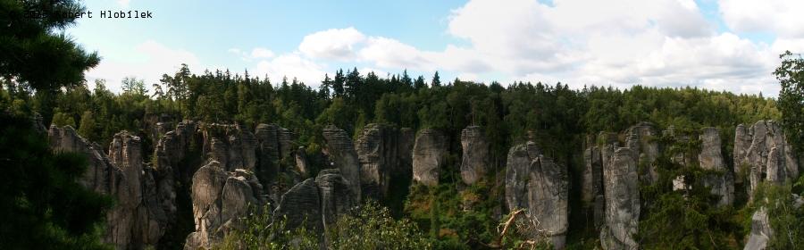 Prachovské skály - panorama