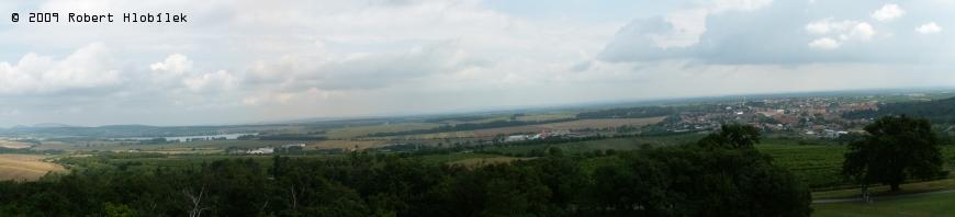 Panorama z Reistny